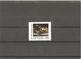 MNH Stamp Nr.723 In MICHEL Catalog - Lettonie
