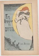 (GEO1) En Remontant La Butte , MONTMARTRE ,   LEON DURICHER - Partitions Musicales Anciennes