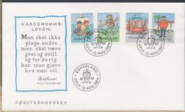 NORVEGIA NORGE - FDC 1984 - EGNERLAND - FDC