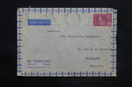 FINLANDE - Enveloppe Commerciale De Helsinki Pour La Belgique En 1947, Affranchissement Plaisant - L 25298 - Finland