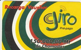 Mozambique - Giro 150.000 - Colours Of Mozambique - Moçambique