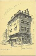 Liège -- Maison Havart -  Illustré Par Jean Muller.      (2 Scans). - Liege