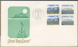 NORVEGIA NORGE - FDC 1978 - PAESAGGIO - FDC