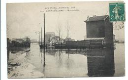 GENNEVILLIERS (JANVIER1910) Rues Inondées - Vente Directe - Gennevilliers