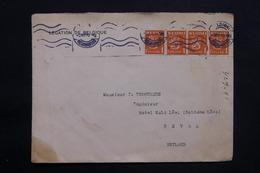 FINLANDE - Enveloppe De La Légation De Belgique De Helsinki Pour Reval  En 1933 , Vignette Au Verso - L 25299 - Finland