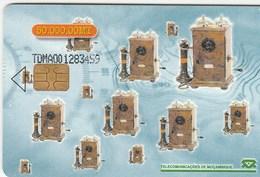 Mozambique - Old Telephones - Moçambique