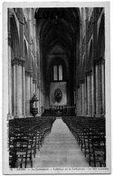 DEPT 51 : En Bleu édit. G Graff Et Lambert N° 78 : Reims Intérieur De La Cathédrale La Nef Centrale - Reims
