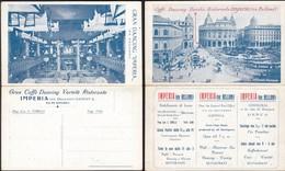Italy - Caffe Dancing Ristorante Imperia (ex Belloni) Piazza Deferrari, Genova (Genoa). - Genova (Genoa)