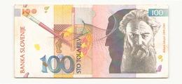 Slovénie 1992 Billet De 100 Tolarjev - Slovenia