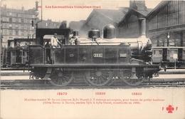 Les Locomotives  -  Etat  -  Machine-Tender N° 3531 Du Réseau OUEST  - Cheminots - Chemin De Fer - Matériel