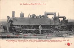 Les Locomotives  -  Etat  -  Machine-Tender N° 32-023 Du Réseau OUEST  - Cheminots - Chemin De Fer - Matériel
