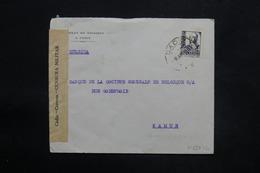 ESPAGNE - Enveloppe De Cadix Pour La Belgique En 1938 Avec Contrôle Postal Militaire - L 25302 - Republikanische Zensur