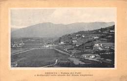 Brescia - Veduta Dei Colli E Sobborghi Collo Sfondo Del Monte Guglielmo - Italie Italia - Brescia