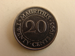 20 CENTS 1993. - Maurice