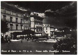 Rocca Di Papa - M. 750 S.m. - Piazza Della Repubblica - Notturno - Italia