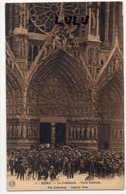 DEPT 51 : édit. OR Ch Brunel N° 4 : Reims La Cathédrale Porte Centrale - Reims