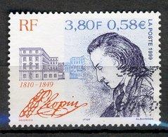 France 1999 - Oblitéré Used - Y&T N° 3287 - Frédéric Chopin - Emission Commune Pologne - Gebraucht