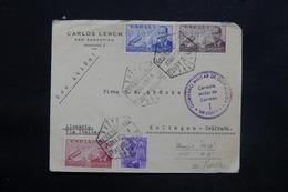 ESPAGNE - Enveloppe De San Sebastian Pour L' Allemagne En 1939 Avec Contrôle Postal Militaire - L 25303 - Marcas De Censura Nacional