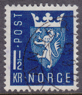 NORWAY 1945 (Mi.# 303) National Arms - 1,50 Kr. - Norwegen