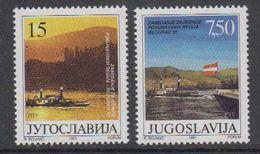 Yugoslavia 1991 Danube 2v ** Mnh (42204E) - Blokken & Velletjes