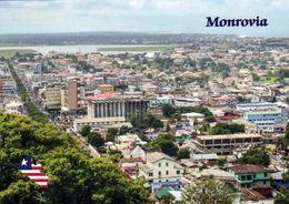 1 AK Liberia * Blick Auf Die Hauptstadt Monrovia - Luftbildaufnahme * - Liberia