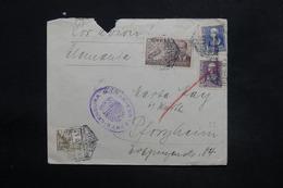 ESPAGNE - Enveloppe De Barcelone Pour L 'Allemagne En 1939 Avec Contrôle Postal Militaire - L 25305 - Republikanische Zensur