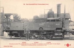 Les Locomotives  -  Etat  -  Machine-Tender N° 30-001 Du Réseau OUEST - Cheminots - Chemin De Fer - Matériel