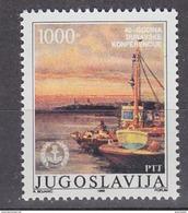 Yugoslavia 1988 Danube 1v ** Mnh (42204E) - Ongebruikt