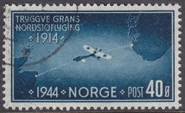 NORWAY 1944 (Mi.# 298) North Sea Flight Crossing By Tryggve Gran - 40 øre - Norwegen