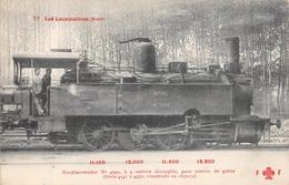 Les Locomotives  -   Machine-Tender N° 4549 Du Réseau NORD - Cheminots - Chemin De Fer - Matériel