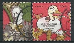 FRANCIA 2014 - YV 4866/67 - Cachet Rond - Benjamin Rabier - France