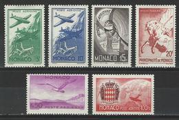 Monaco Mi 267-72 * MH - Poste Aérienne