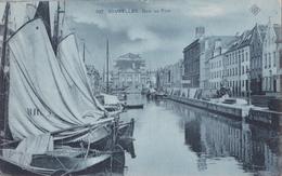 CPA Bruxelles / Brussel  - Quai Au Foin - SBP N° 107 - Carte Bleue - Places, Squares
