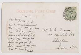 AI22 Family History - Tanner, Clapham, London, 1907 - Genealogie
