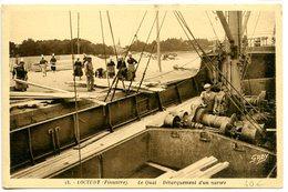 Loctudy - Débarquement D'un Navire - Loctudy