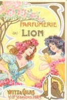 PETIT CALENDRIER  9 CM SUR 6 CM     1903   PARFUMERIE DU LION    PARIS - Calendriers