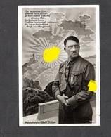 S/w Ak  Kanzler Vor Burg Und HK-Sonne, Ca 1933 - Deutschland