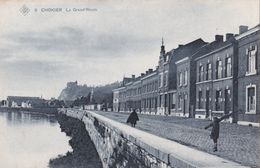 CPA Chokier (Flémalle) - La Grand'Route - SBP N° 8 - Carte Bleue - Flémalle