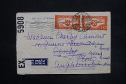 PORTUGAL - Enveloppe  De Estoril Pour Le Royaume Uni En 1941 Avec Contrôle Postal, Affranchissement Plaisant  - L 25309 - 1910-... République