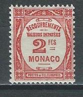 Monaco Mi P26 ** MNH - Taxe