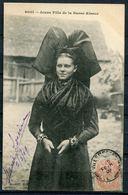 """CPA S/w AK Frankreich,France Basse Alsace/Elsass 1909""""Jeune Fille De La Basse Allsace,Mädchen Aus Den Elsass"""" 1 AK Used - Europe"""
