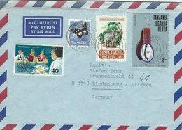 Tanzania Cover Sent To Germany. 1976     H-1532 - Tanzania (1964-...)
