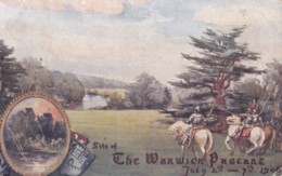 AN88 Site Of The Warwick Pageant, 1906 - Warwick