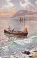 AN88 Bray Head, Co. Wicklow - Boat, Art Card - Wicklow