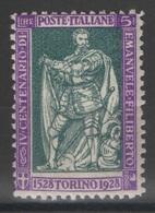Italie - YT 216 * - 1928 - 1900-44 Victor Emmanuel III