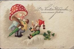 Easter - Oster - Pasen // Gnomes - Lucky Clover 192? - Pasen