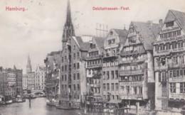 AO67 Hamburg, Deichstrassen Fleet - 1910's - Germany