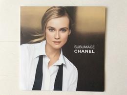 Grand  Dépliant Chanel - Cartas Perfumadas