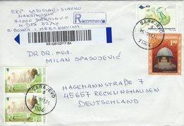 Bosnia - Herzogovina  Registered  Cover Sent To Germany.    H-1533 - Bosnia And Herzegovina
