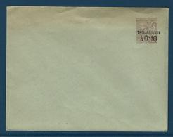 FZ-/-013--. A.MAURY = ENVELOPPE  N° 21, 147 X 112, BRUN / VERDATRE, Cote 21.00 € , BONNE OCCASION - Entiers Postaux